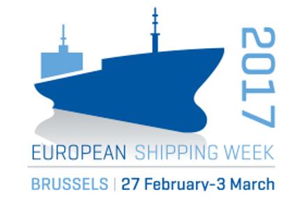 European Shipping Week logo