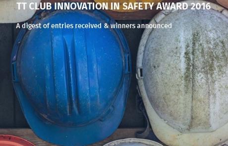 Front page - ICHCA International presents TT Club Innovation in Safety Award 2016