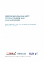 GS7: Recommended Minimum Safety Specifications for Quay Container Cranes - Joint Publication with PEMA and TT Club