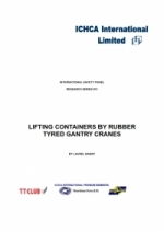 RP13: Lifting Containers by Rubber Tyred Gantry Cranes